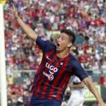 The teen athlete scored his first goal in Paraguay's top league