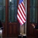 Paraguay's President Mario Abdo Benitez met with US Secretary of State Mike Pompeo